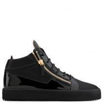Giuseppe Zanotti KRISS Mens Mid top sneakers Black