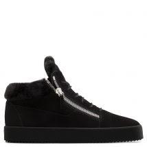 Giuseppe Zanotti KRISS Mens Mid top sneakers Black