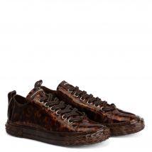 Giuseppe Zanotti BLABBER Womens Low top sneakers Brown