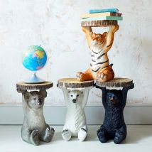 Tyson Tiger Side Table