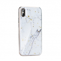 Forcell MARBLE Case voor Samsung Galaxy S8 - white marble