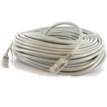 Lan kabel - Patch kabel CAT6 - 25m - Wit - topkwaliteit