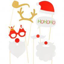 8 photobooth de Noël hohoho