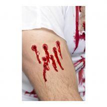 cicatrice impact balle
