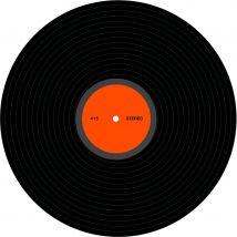 Disque vinyl de déco (30cm)