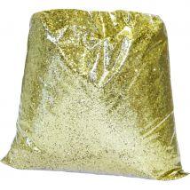 Paillettes dorées en sachet (OR)
