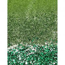 Paillettes vertes décoratives