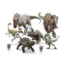 Silhouette de table Jurassic World