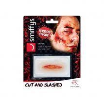 Tatouage de blessure ouverte, coup de couteau