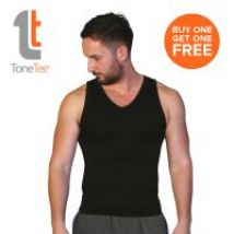 Tone Tee Black T-shirt Large