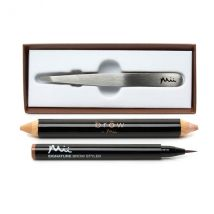 Brow by Mii Collection (Tweezers, Conceal 'n' Contour Pencil, Signature Brow Styler )