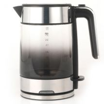 Progress EK3891PBLK Ombre Glass Kettle, 3000 W, 1.5 L, Black