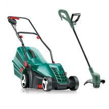Bosch Rotak36 Electric Lawnmower and Grass Trimmer