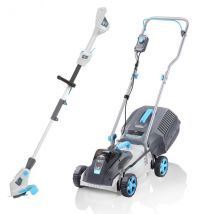 Swift 32cm+ Lawn Mower and Grass Trimmer Bundle