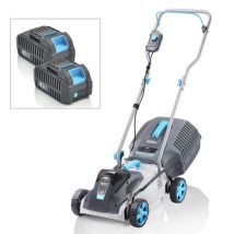 Swift 32cm+ Lawnmower with Charger and 2 x Batteries EB132CP22