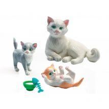 poppenhuis huisdiertjes 'de katten' 5pc