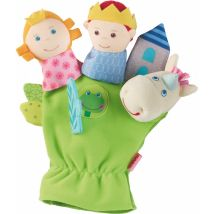 leuke handpop 'Sprookje Prins & Prinses'