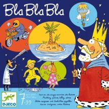 Ideenreiches gesellschaftsspiel 'Bla Bla Bla'