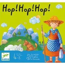 fraai gezelschapsspel 'hop! hop! hop!'