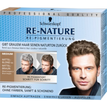 Schwarzkopf - Re-Nature Re-Pigmentierung Brun Moyen 150ml - Homme