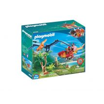Playmobil 9430 Hélicoptère et Ptéranodon