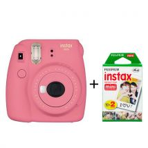 Fujifilm - Instax mini 9 - Fotocamera istantanea - Fucsia