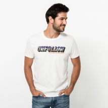 JACK & JONES - T-shirt, Regular Fit, manches courtes Blanc L - Homme