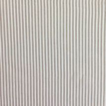 Tissu Lin Rayures Beiges - Mondial Tissus