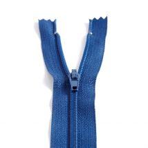 Fermeture Polyester Non Séparable À Glissière - Bleu Foncé - Mondial Tissus
