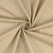Popeline Baumwolle Origami Ecru - MT Stofferie