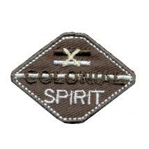 Bügelbild Colonial Spirit Grau - MT Stofferie