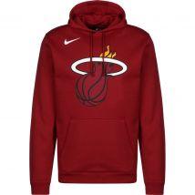 Nike Miami Heat Club Fleece Logo Kapuzenpullover Herren