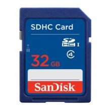 SanDisk Secure Digital Card SDHC CLASS 4 32GB