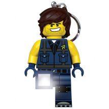 Lego Movie 2 Rex Dangervest Keylight Keyring