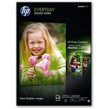 HP Everyday Photo Paper (Glossy) 200gsm A4 (1 x Pack of 100 Sheets)