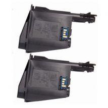 Compatible Multipack Kyocera FS-1320MFP Printer Toner Cartridges (2 Pack) -TK-1115