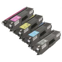 Compatible Multipack Brother TN329BK/Y Full Set Extra High Capacity Toner Cartridges (4 Pack)