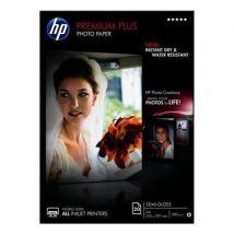 HP Premium Plus (A4) Semi-Gloss Photo Paper (20 Sheets) (White)