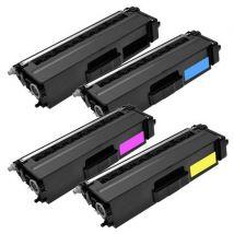 Compatible Multipack Brother MFC-L8850CDW Printer Toner Cartridges (4 Pack) -TN321BK
