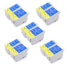 Compatible Multipack Epson Stylus CX3200 Printer Ink Cartridges (10 Pack) -C13T04014010