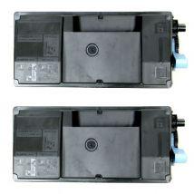 Compatible Multipack Kyocera ECOSYS M3550idn Printer Toner Cartridges (2 Pack) -TK-3130