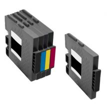 Compatible Multipack Ricoh 405688/91 Full Set + 1 EXTRA Black Ink Cartridge (5 Pack)