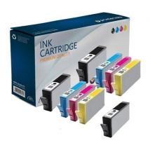 Compatible Multipack HP OfficeJet 4610 All-in-One Printer Ink Cartridges (9 Pack) -CN684EE