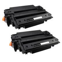 Compatible Multipack HP LaserJet 2430n Printer Toner Cartridges (2 Pack) -Q6511XX