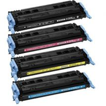 Compatible Multipack Canon i-SENSYS LBP-5000 Printer Toner Cartridges (4 Pack) -9424A004AA
