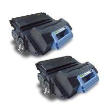 Compatible Multipack HP LaserJet M4345xm MFP Printer Toner Cartridges (2 Pack) -Q5945XX