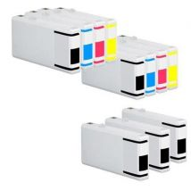 Compatible Multipack Epson WorkForce Pro WP-4515DN Printer Ink Cartridges (11 Pack) -C13T70114010