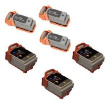 Compatible Multipack Canon BJ-35 Printer Ink Cartridges (6 Pack) -0957A003