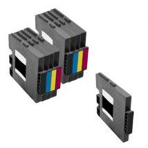 Compatible Multipack Ricoh GXe5550N Printer Ink Cartridges (9 Pack) -405688