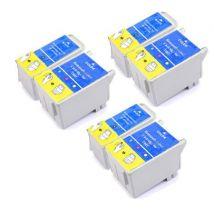 Compatible Multipack Epson Stylus C62 Printer Ink Cartridges (6 Pack) -C13T04014010